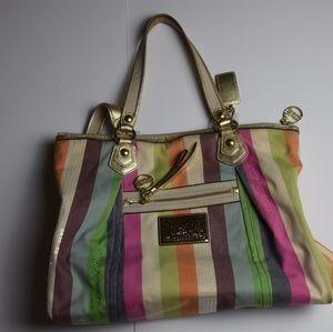 Poppy Coach Shoulder Bag/Tote
